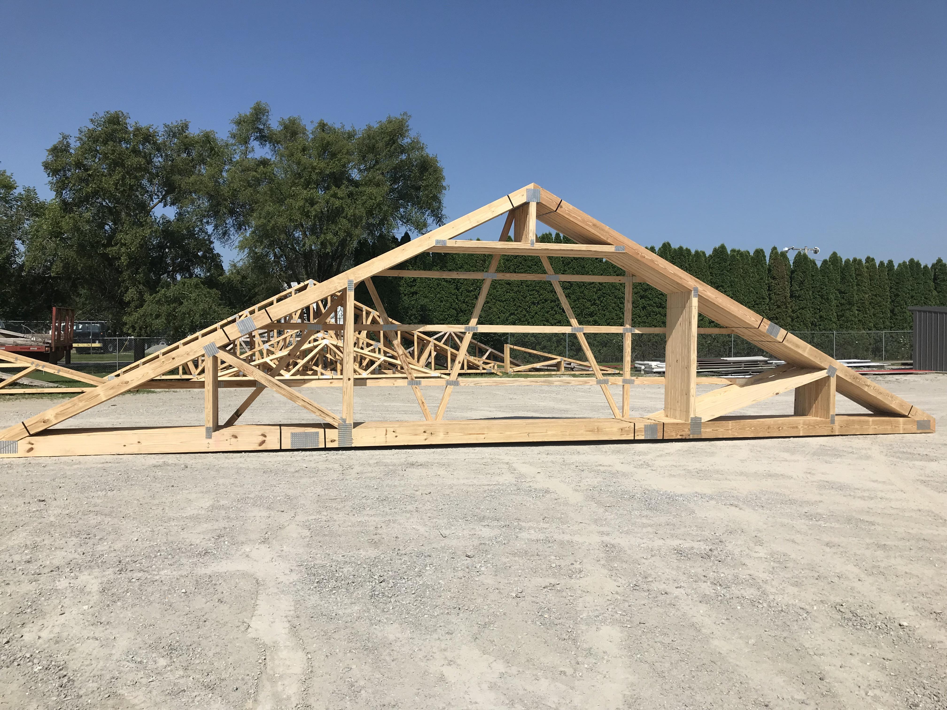 large attic trusses