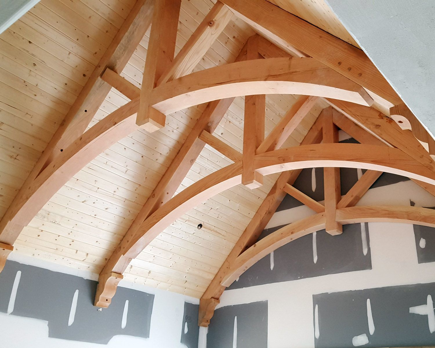 Decorative Timber Trusses