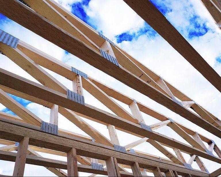large custom trusses