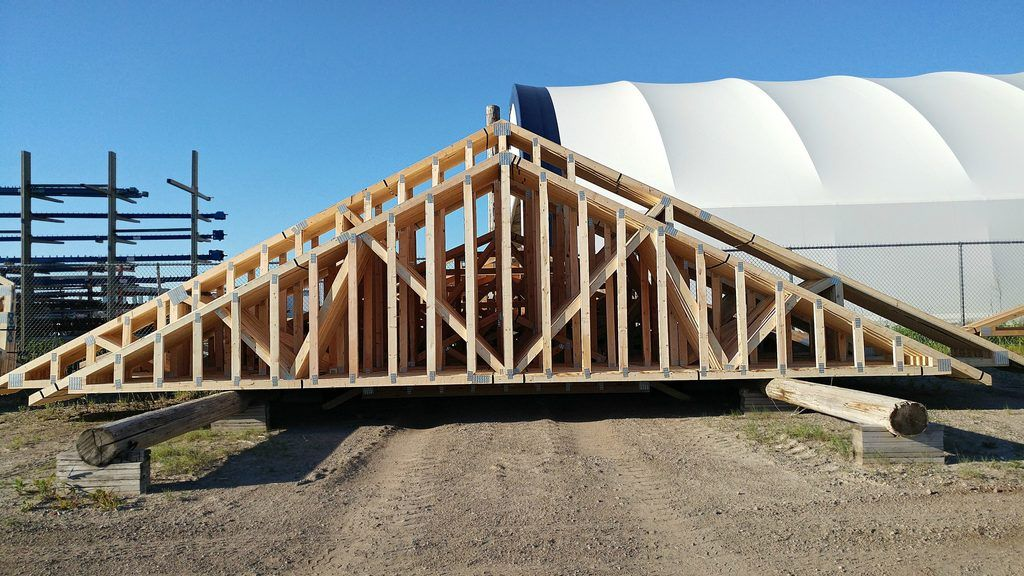large a-frame trusses