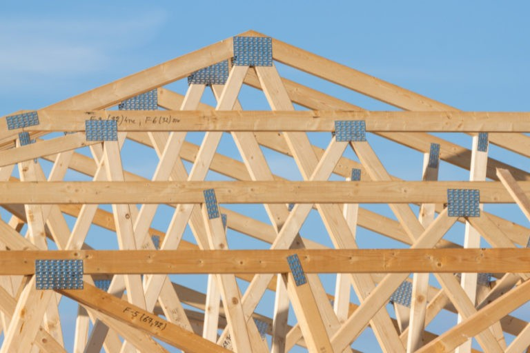 Wood roof trusses near Connersville IN.